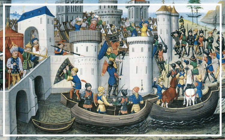 The Fourth Crusade at Constantinople
