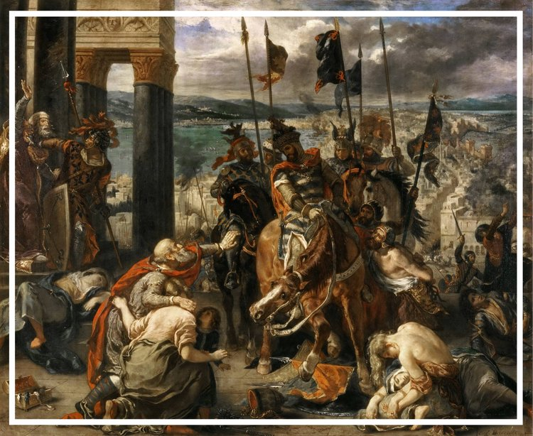 Entry of the Crusaders into Constantinople, 1204