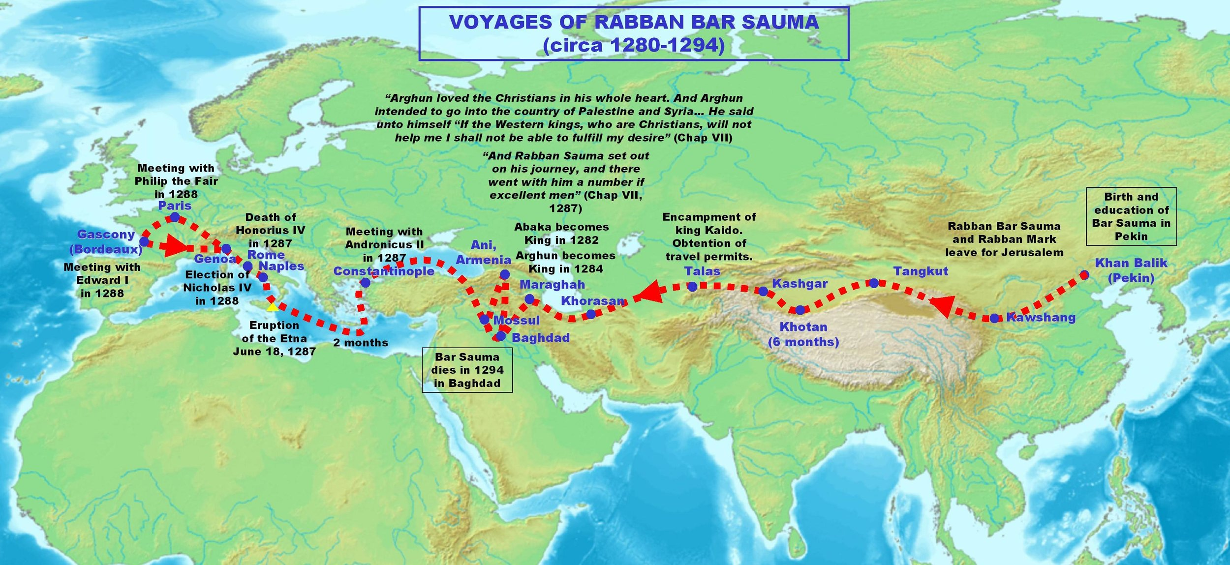 The Journey of Rabban Bar Sauma