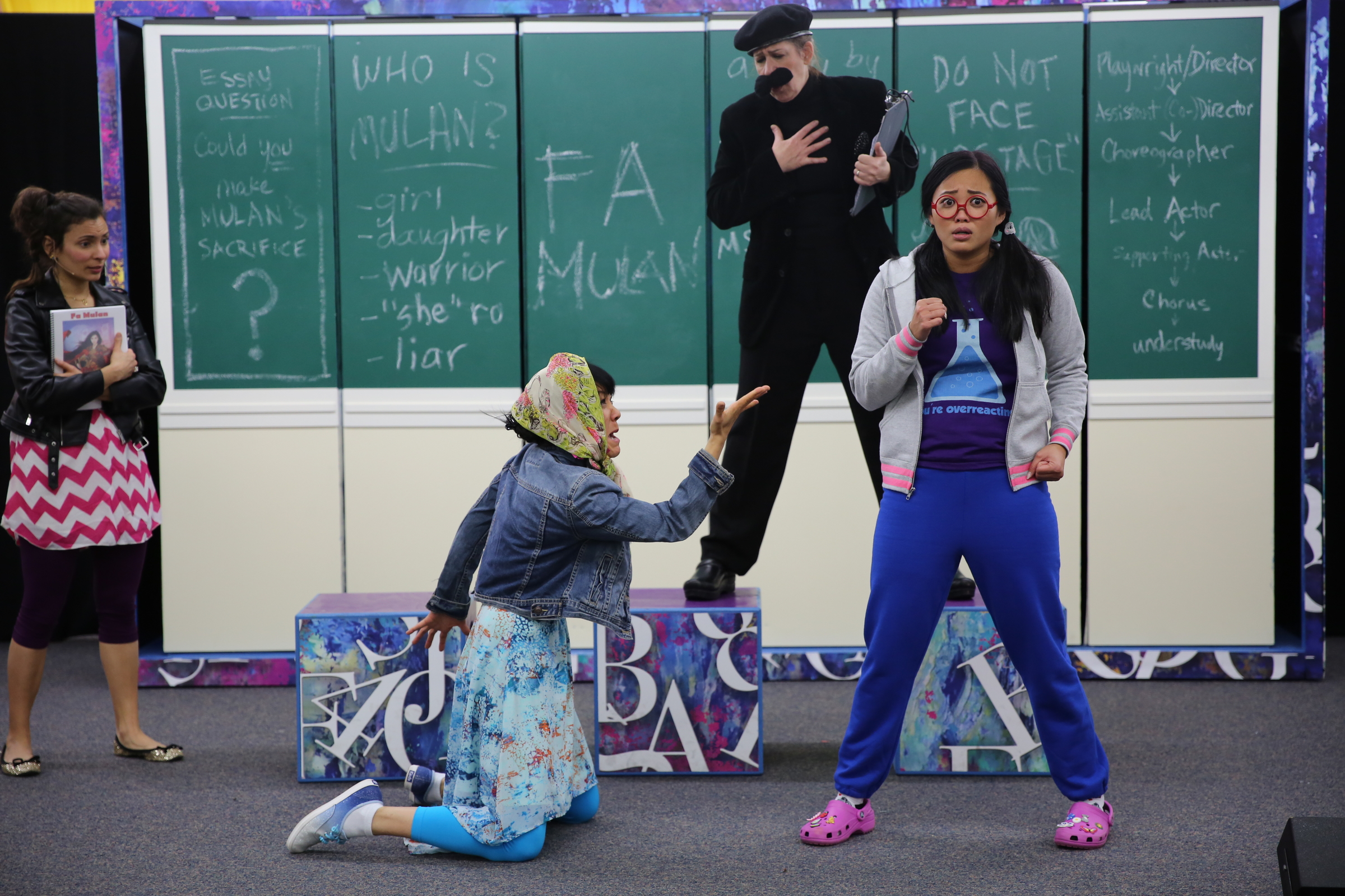 Jyl Kaneshiro, Maggie Carney, Dana Wing Lau