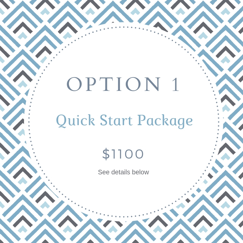 Quick Start Squarespace Package by Deb Mantel Design