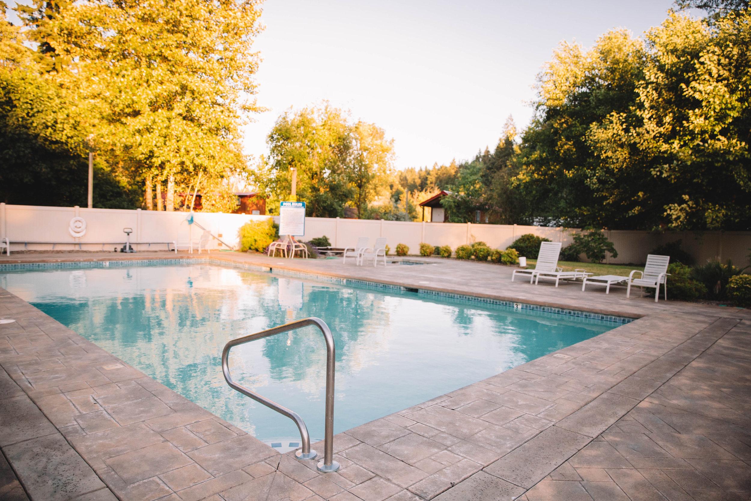 Swimming Pool at Hope Valley Resort