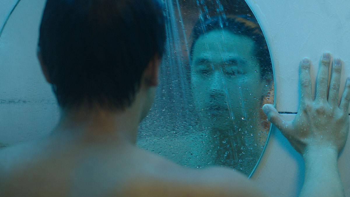 Film still from Andrew Ahn's  Spa Night , 2016. Starring Joe Seo, Youn Ho Cho, and Haerry Kim