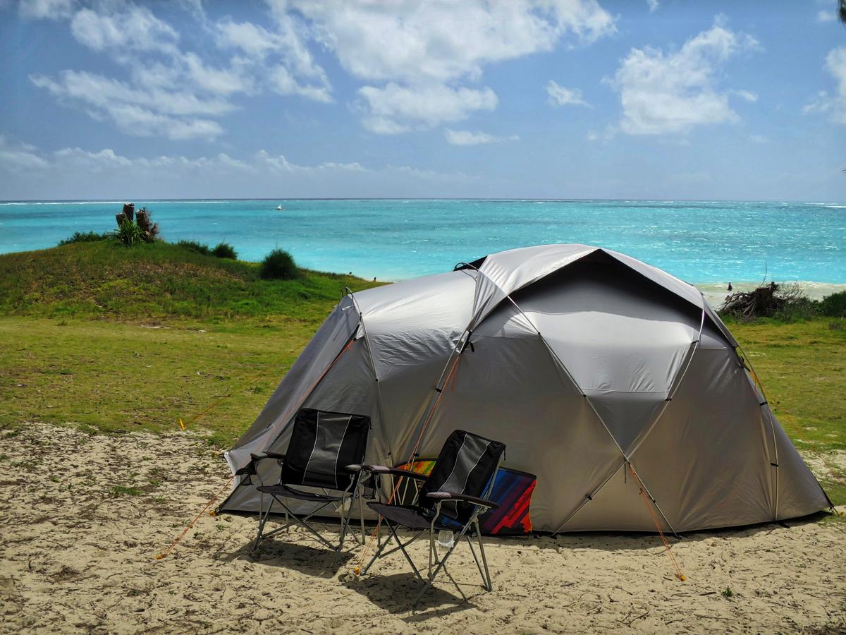 Beachfront testing in Hawaii