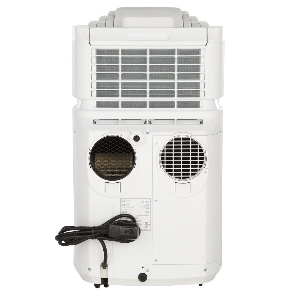 Notice the Dual round Vent Ports on the back - One fresh air intake and one hot air output. There's also a second rectangular air intake.