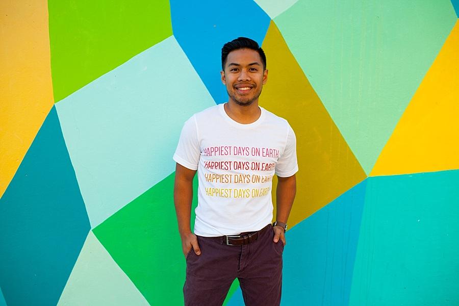 disney rainbow t shirt made of wonders