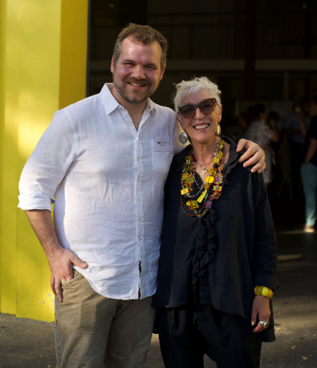Marc Zornes, Founder of Winnow and Ronni Kahn, Founder & CEO of OzHarvest & ForPurposeCo. at the launch of Winnow in Australia -  photo credit Eric Ung