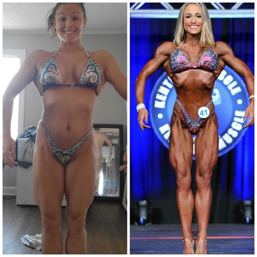 Audreana Cornelissen - 18 week transformation in preparation for the 2017 Kentucky Pro, 3rd Place overall in competition division.