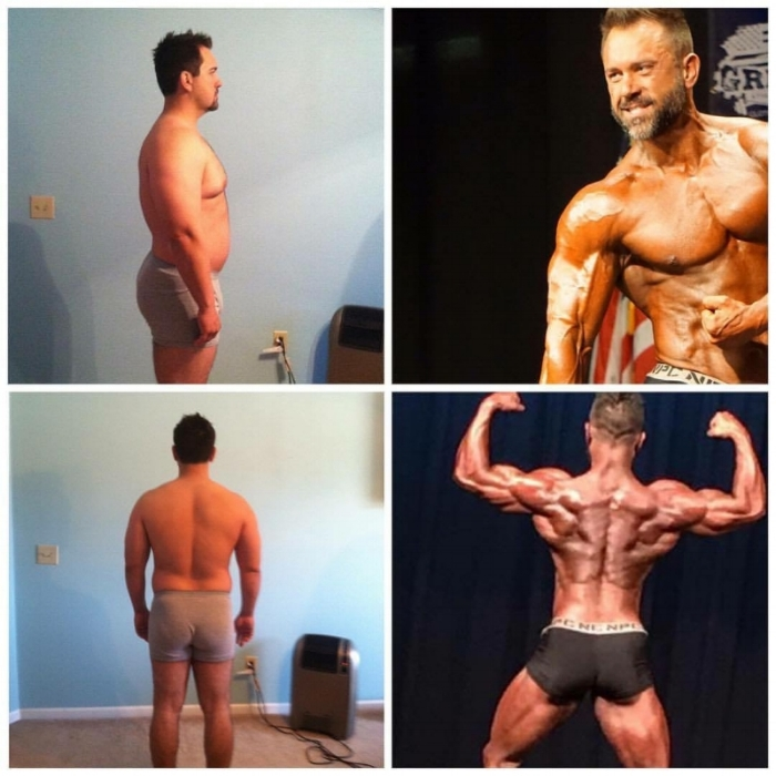 4 year transformation from sedentary lifestyle and poor health to first win in second showing.