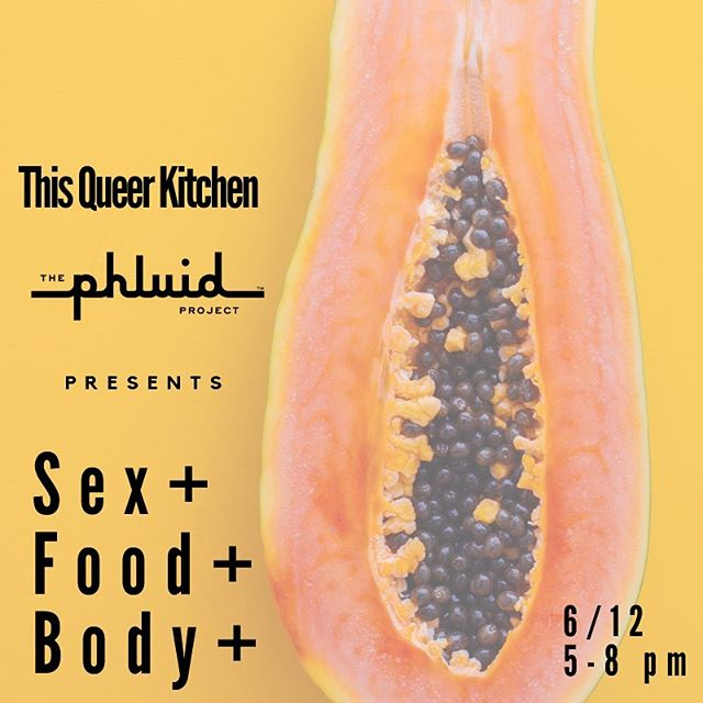 We hope your Pride Month 🌈 has been super amazing so far, but WAIT, there's more...we're so PUMPED to bring you a night full of sexy, food fun @thephluidproject with our friend @dominajia 🤘🏼 and special viewings of @alisonpirie and @christinamdietz 🍒 Trust us, you do not want to miss this! Check our story for more details, maybe including 🎂  See you this Wednesday from 5-8pm!