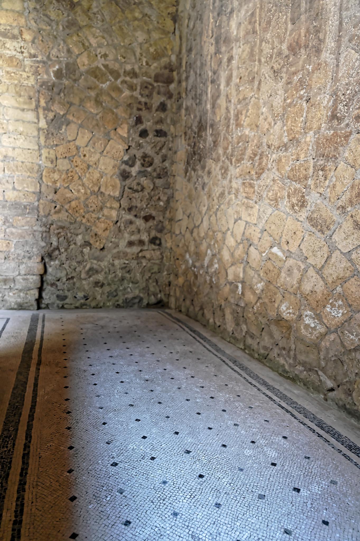 Passageway tile work