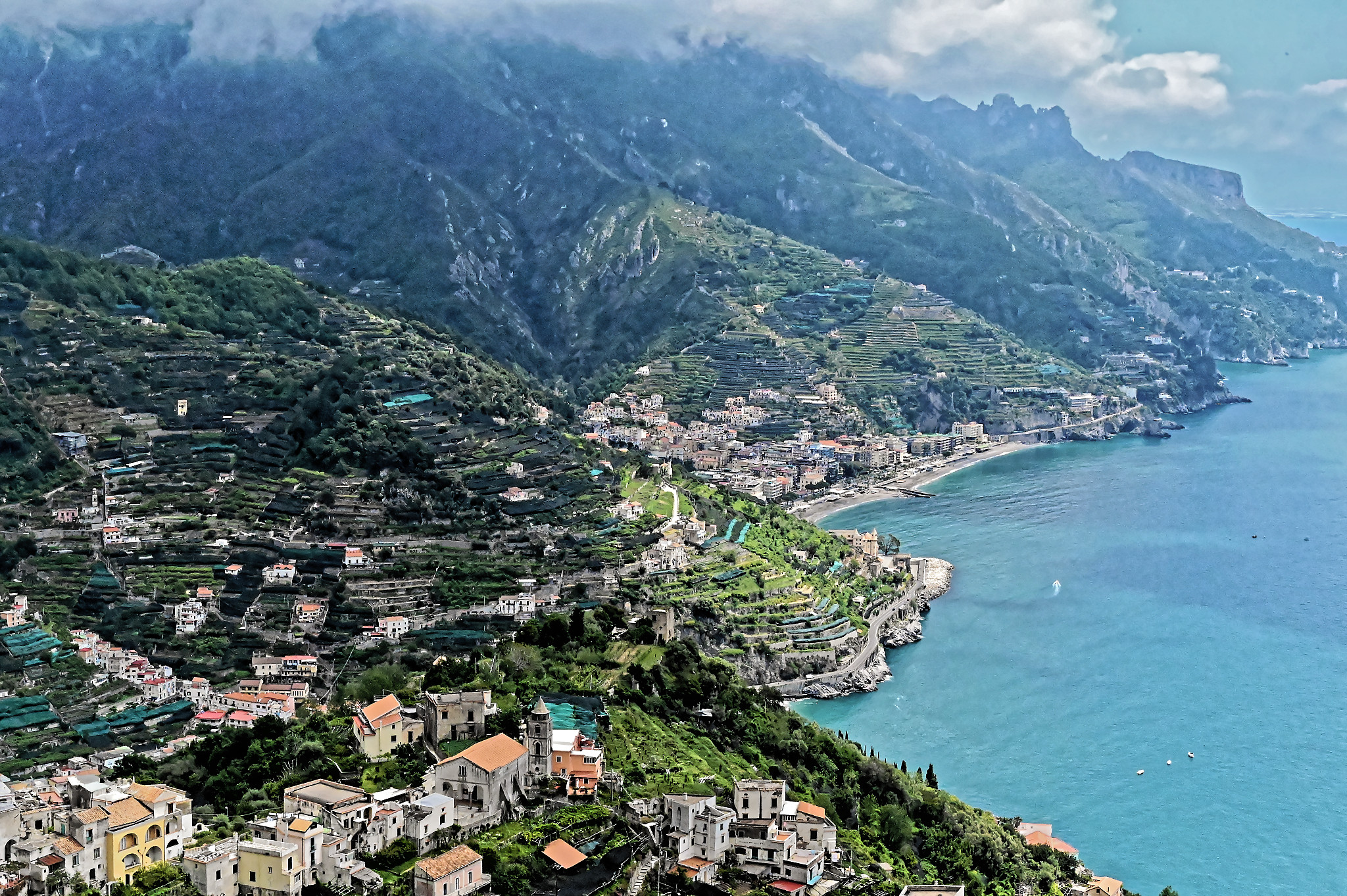 Amalfi Coast from Revello