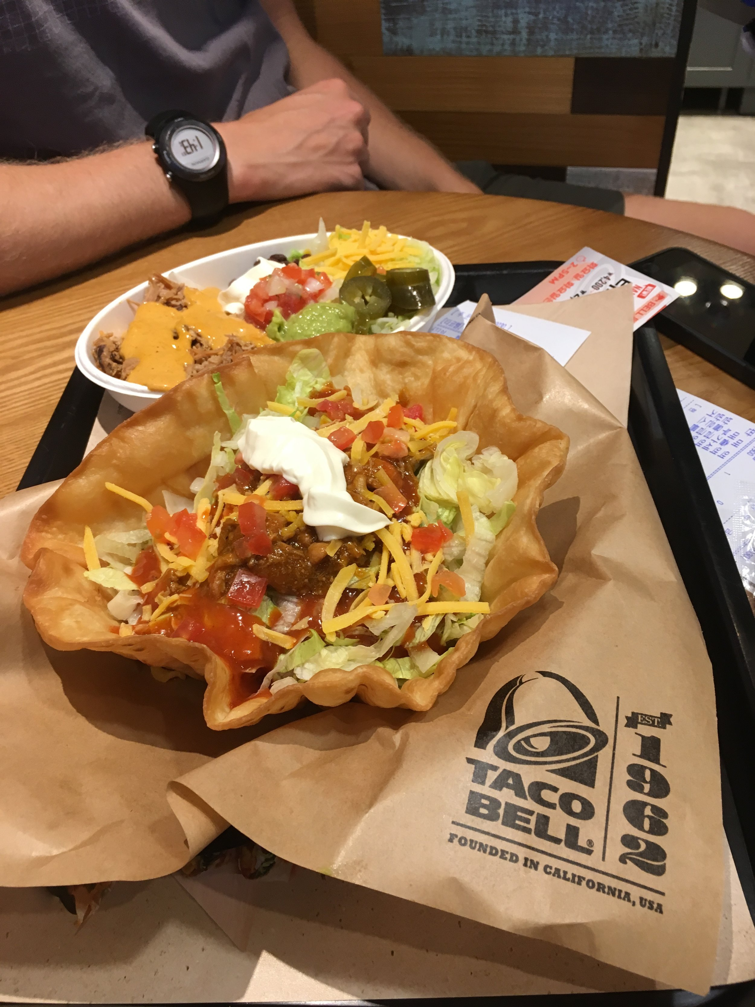 Yes, we got Taco Bell. No, it wasn't quite the same.