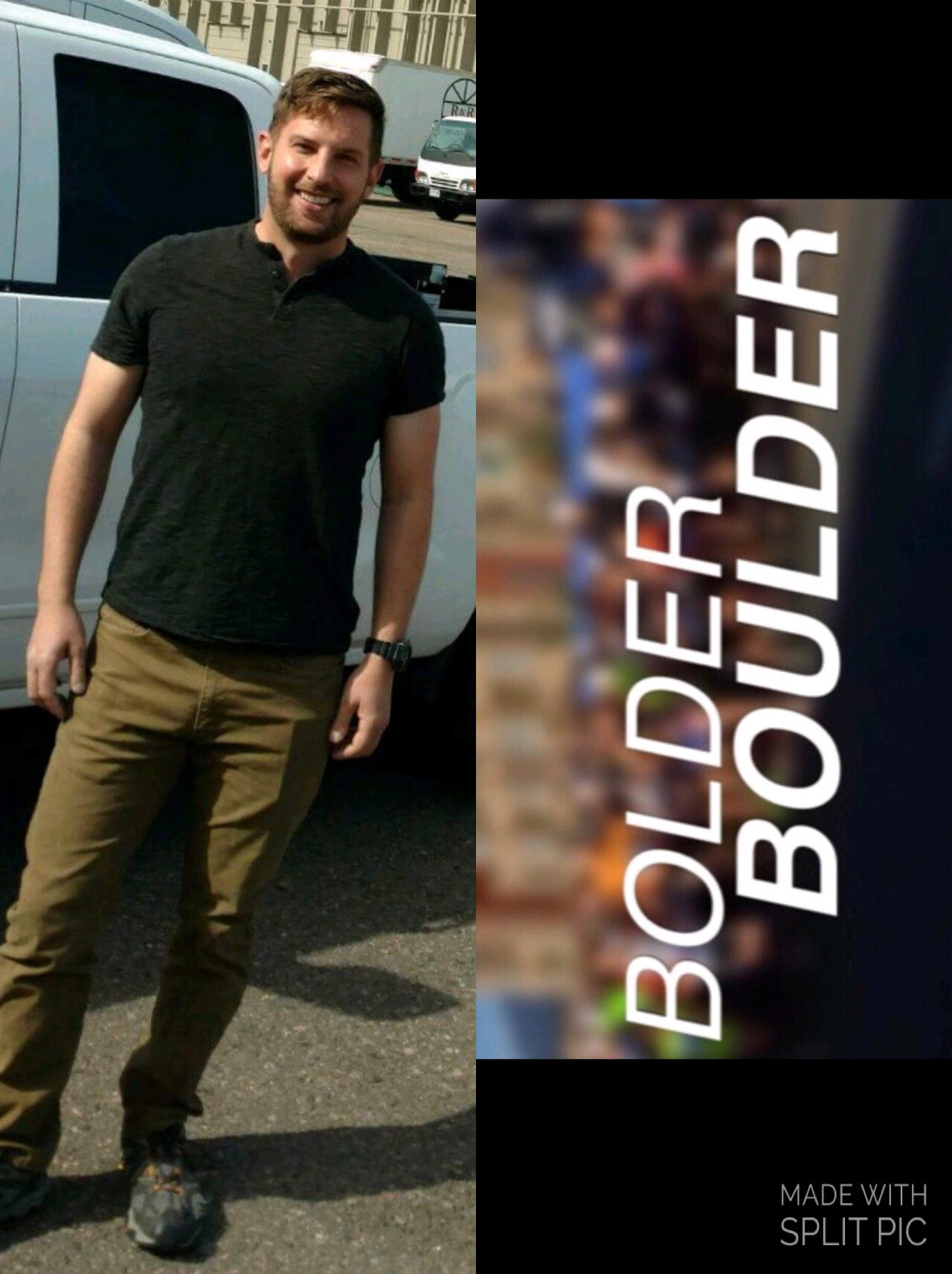 We so excited to announce that we have raised enough funds to sponsor our very own Joe from our Sports & Rec Team to run in the Bolder Boulder this year!