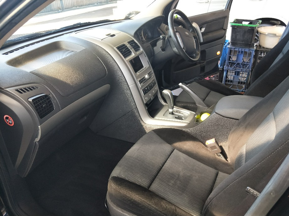 Ford Territory Interior Detail