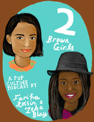 From 2012 onwards she co-hosted the podcast  Two Brown Girls,  a podcast that centered brown and black voices in film and TV, emphasizing the importance of representation.