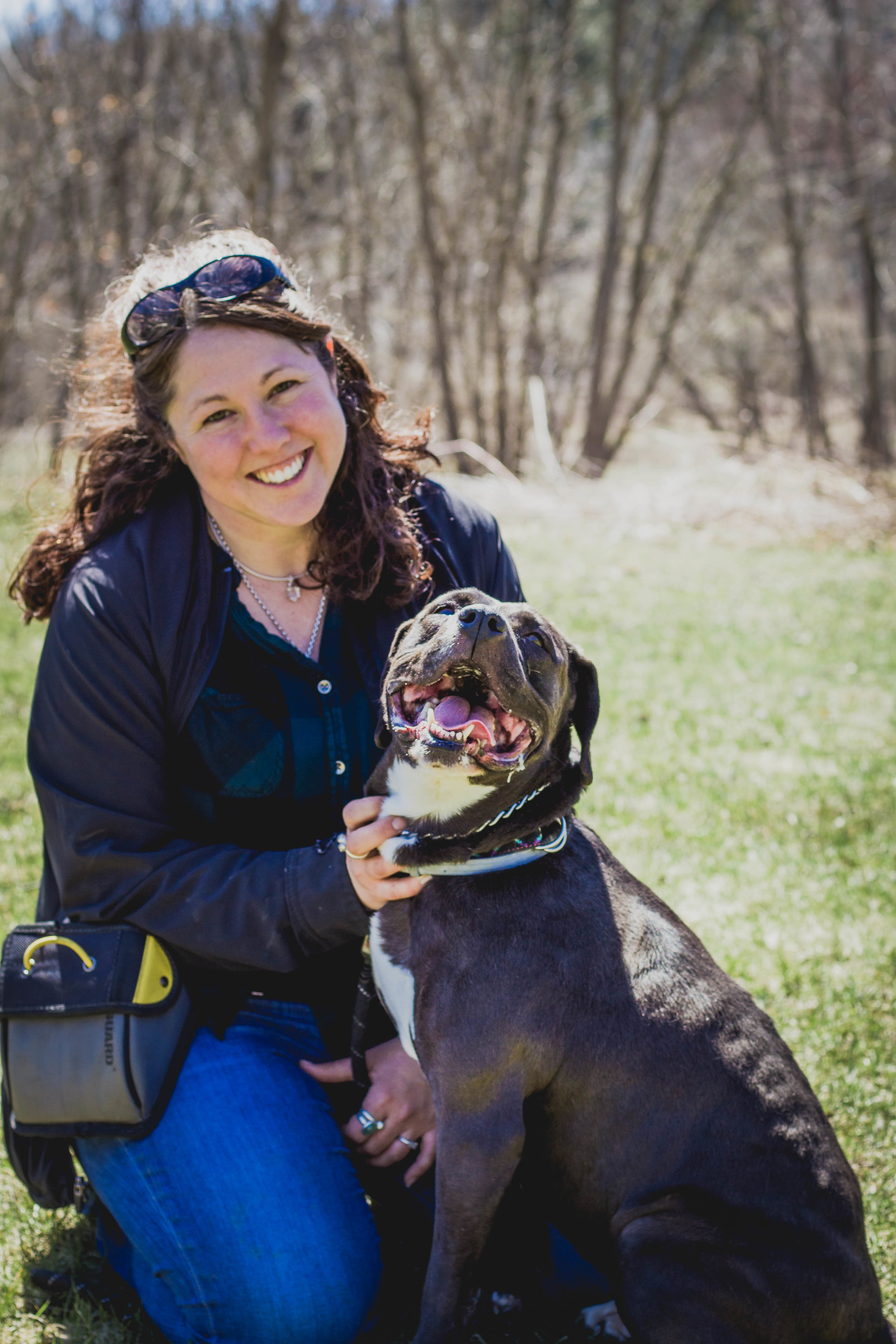 founder/owner of rising canine dog training - heather mach
