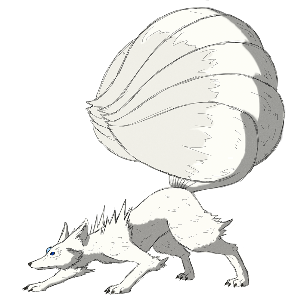 White Nine-Tailed Fox.png