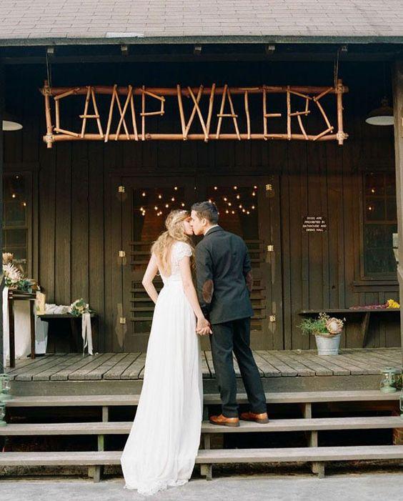 Summer Camp Wedding - Via Wedding Party App