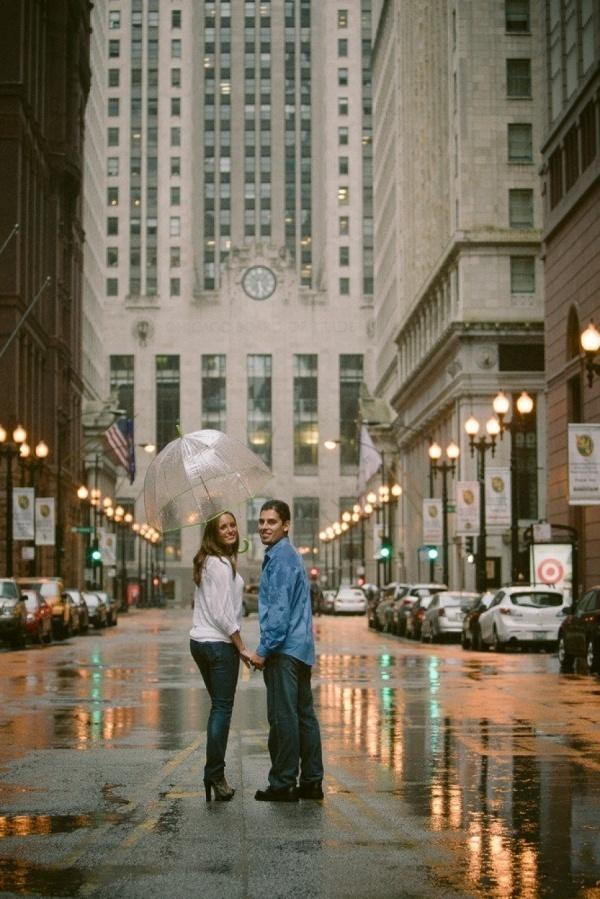 Gorgeous rainy day city photo!