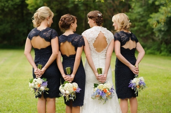 Photo by   Photography by Cynthia  via  Wedding Wire