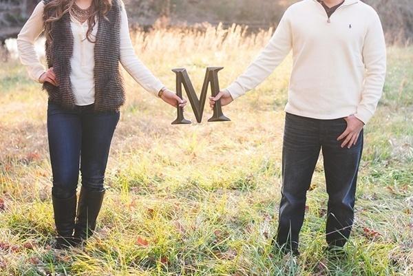 Cute engagement photo idea