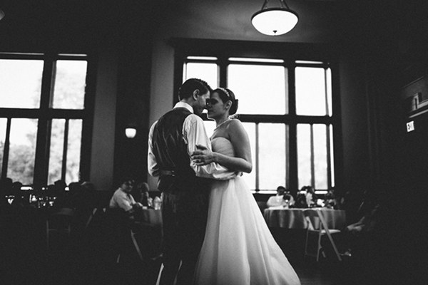 Wedding first dance photo romantic