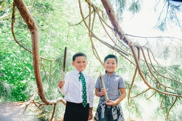 Silly ring bearers!