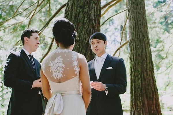 Beautiful wedding dress back!