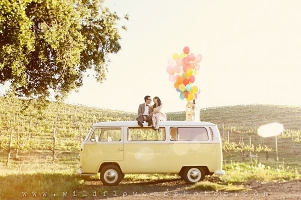 Up themed engagement photos!