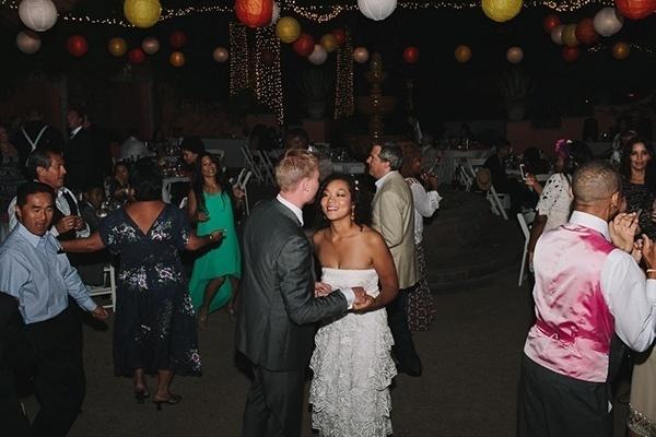 Super fun wedding reception!