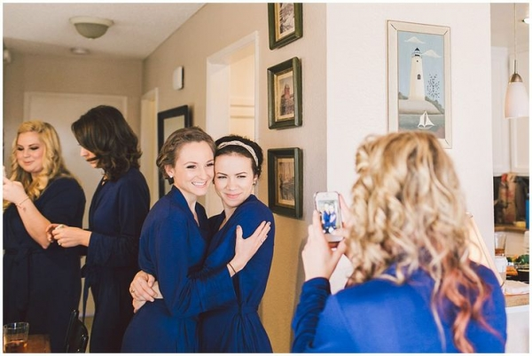 Totally planning on using Wedding Party for my big day! It's a great way to collect photos from wedding guests and keep them updated on important info. And it's free! / Photo by  Anna Delores