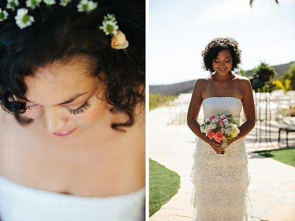 Gorgeous boho bride