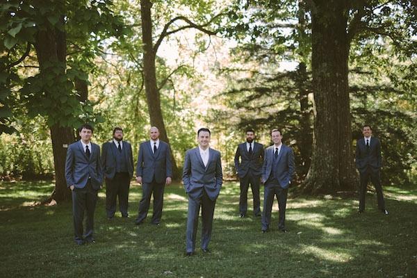 Groom with his groomsmen!