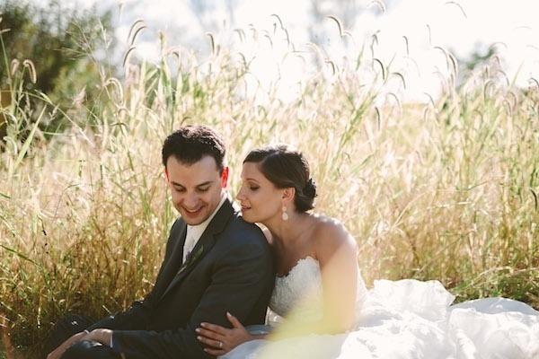 Beautiful bride and groom!