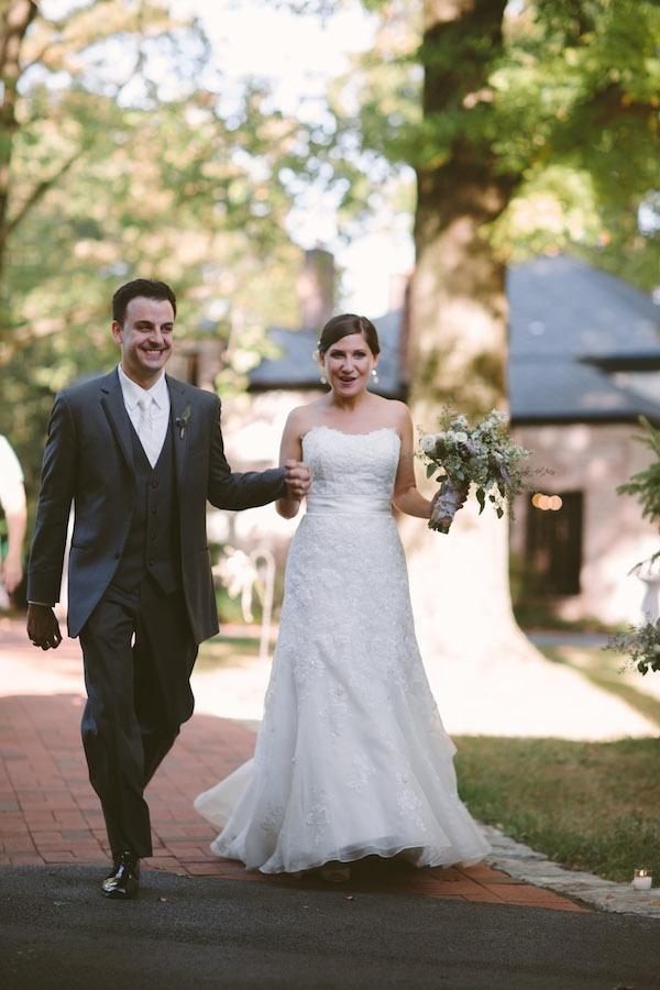 Happy bride and groom!