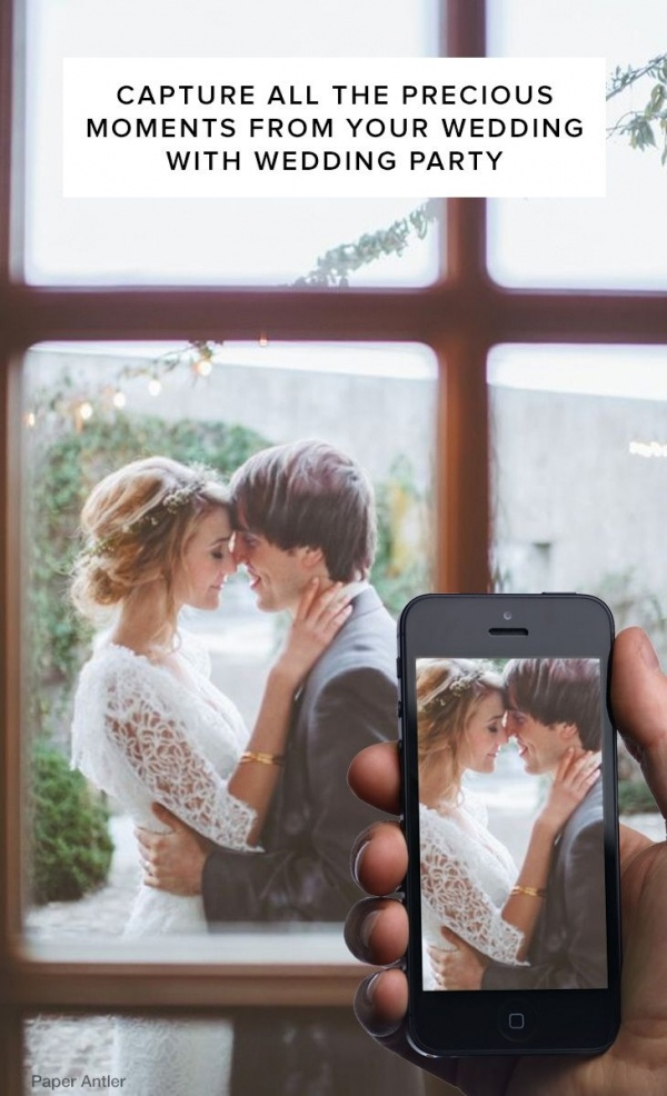 Totally planning on using Wedding Party for my big day! It's a great way to collect photos from wedding guests and keep them updated on important info. And it's free!