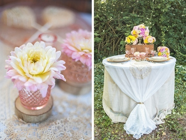 Sweetheart table decor for the wedding reception