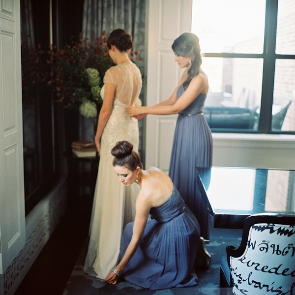 Photo by  Trent Baily Photography  via  Bridal Musings