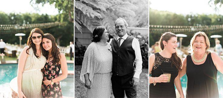oh-so-happy wedding guests