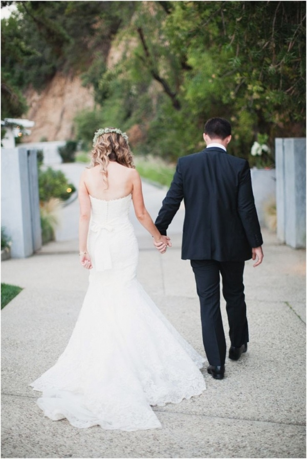 Gorgeous photo of the bride and groom after the wedding. Photo courtesy of Marissa Maharaj.
