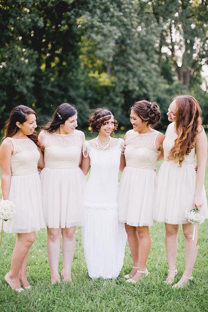 Sweet vintage bridesmaid dresses