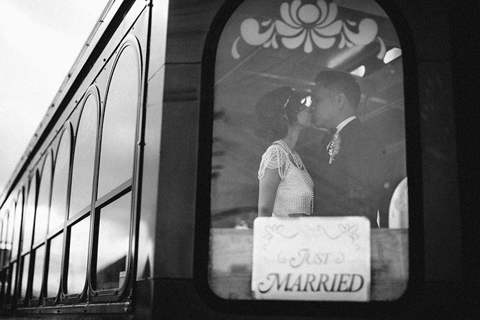 Lovely vintage wedding day