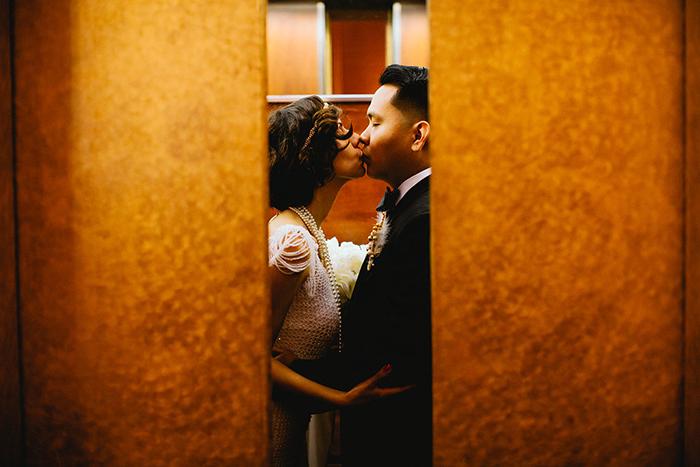 Gatsby inspired wedding photo