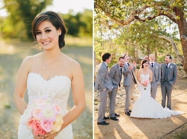 Lovely shots of bride on her wedding day.