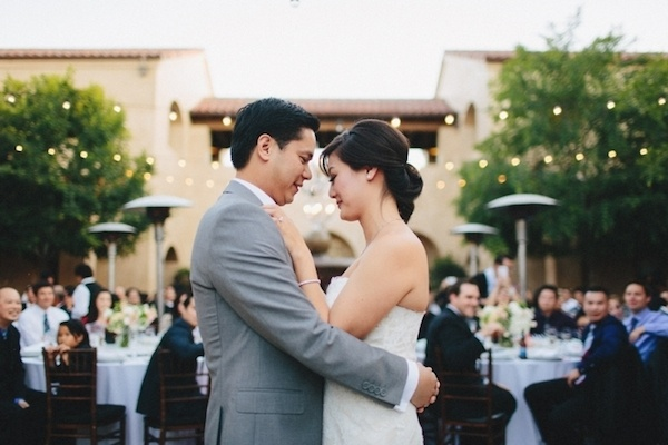 Adorable first dance photo.