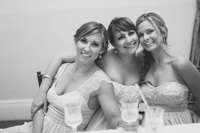 Adorable photo of the bridesmaids