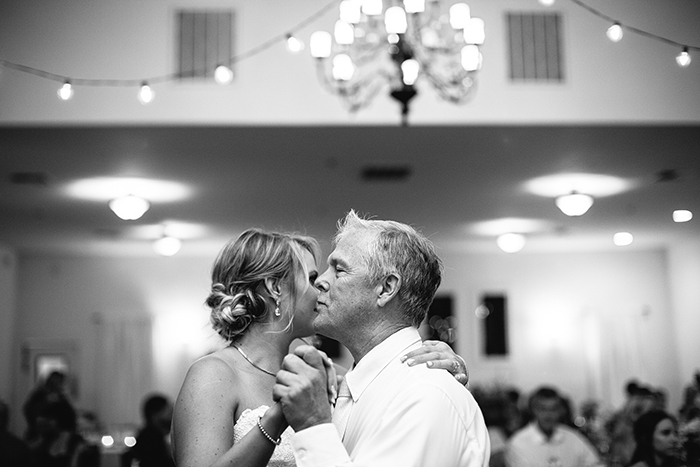 Father daughter dance photo