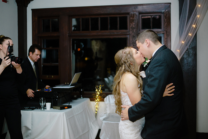 First dance photo at the end of the night