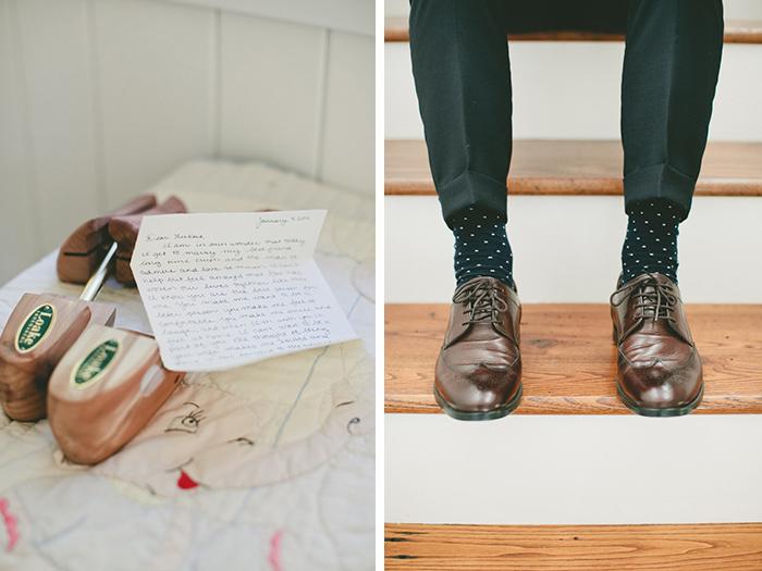 Groom socks. Fun pattern!
